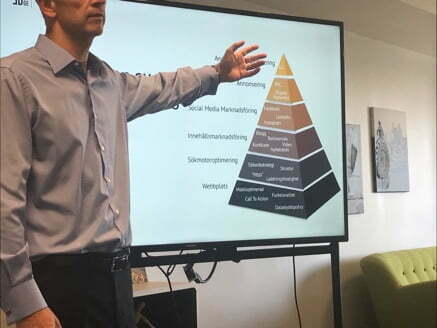 Digitalmarknadsforing seminar Beveled Edge
